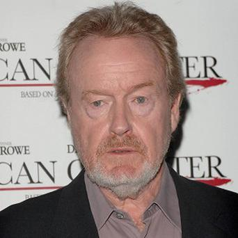 Ridley Scott said he and Russell Crowe bond over their anger