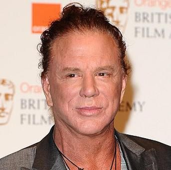 Mickey Rourke had trouble getting to grips with Russian