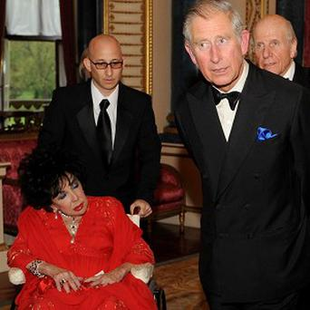 Dame Elizabeth Taylor and the Prince of Wales honoured Richard Burton