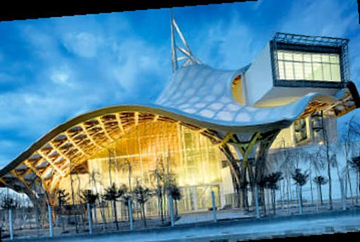 The dazzling Centre Pompidou-Metz, which will be a cultural highlight when it opens this month.
