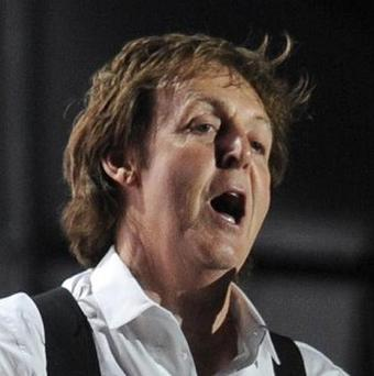 Sir Paul McCartney has revealed his fear while playing small gigs