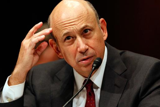 Lloyd Blankfein, chairman and CEO of Goldman Sachs Group. Photo: Getty Images