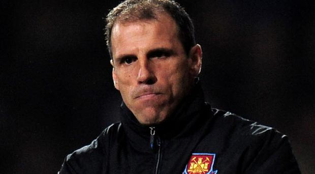 Gianfranco Zola struggled as manager of West Ham. Photo: Getty Images