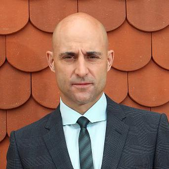 Mark Strong says he's enjoying playing bad characters