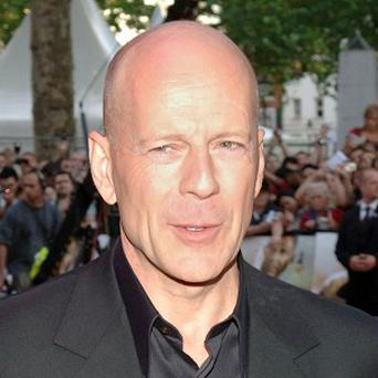 Bruce Willis has admitted he does get teary-eyed on occasion