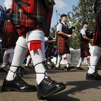 The kilt has been rated as the most popular of the world's traditional garments