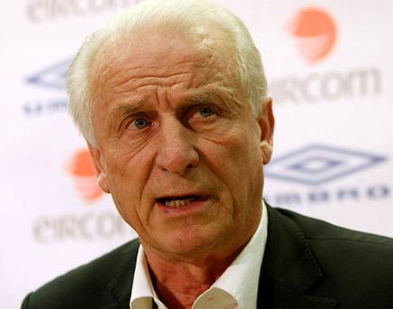 Trapattoni's side will play a training game tomorrow. Photo: Getty Images