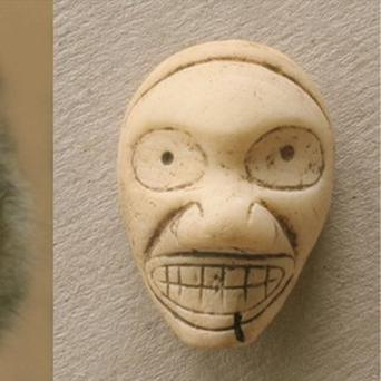 The true meaning of 'devilish grimaces' in Caribbean artwork was in fact friendly