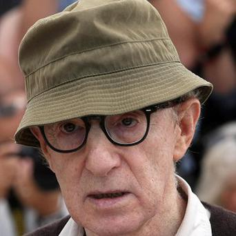 Woody Allen has stated his support for fugitive director Roman Polanski (AP)