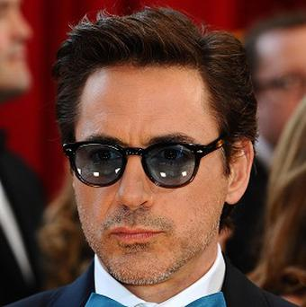 Robert Downey Jr's Iron Man 2 is No 1 in the US
