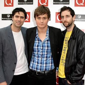 Three-piece Brit band Keane were celebrating a fourth album No 1