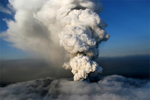 Ash from the Icelandic volcano repeatedly closed airspace. In the US, they do things differently