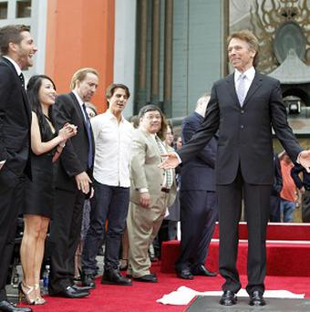 Stars including Tom Cruise and Nicolas Cage honoured Jerry Bruckheimer
