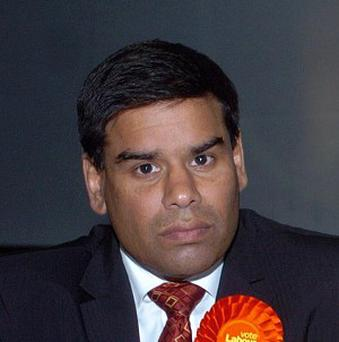 Labour MP Khalid Mahmood had a tab of £8,200.60, the House of Commons figures revealed