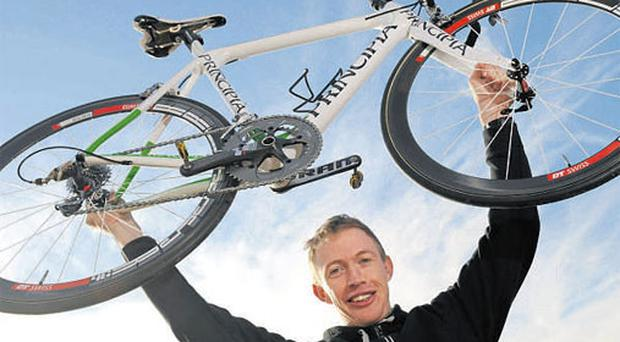 David O'Loughlin will lead the An Post Sean Kelly team in this year's Ras, in his first road race of note this season.