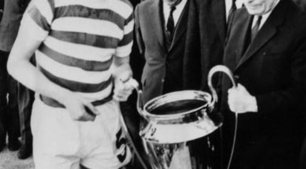 <p><strong>The Treble</strong></p> <p><strong>Celtic, 1967: Scottish Football League, Scottish Cup, European Cup</strong></p><p>Celtic became the first British team to win the European Cup after they beat Inter Milan in the final. As well as the two most prestigious domestic trophies, they also picked up the League Cup and Glasgow Cup as they swept aside all before them.</p>