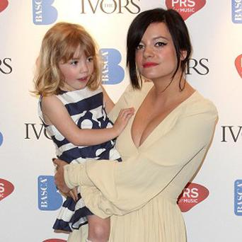 Lily Allen brought sister Teddy Rose to the Ivor Novello Awards
