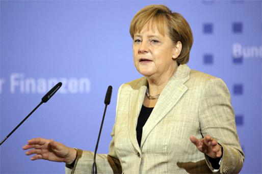 Angela Merkel: 'At some point we [politicians] have to deliver'. Photo: Bloomberg News