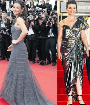 From left: Evangeline Lilly and Juliette Binoche