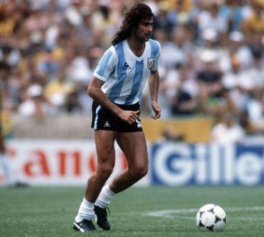 Mario Kempes. Photo: Getty Images