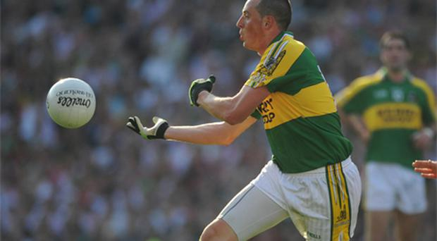 Kerry's Kieran Donaghy was one of the players affected by the new handpass rule during his team's clash with Tipperary last Sunday