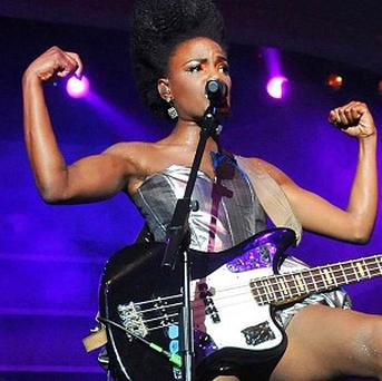 Shingai Shoniwa from The Noisettes is looking forward to playing Africa