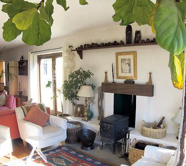 the centre's tranquil sitting room.
