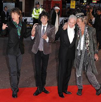 The Rolling Stones are celebrating their first album number one in 16 years