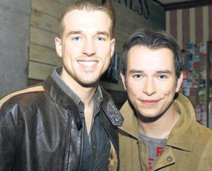 Partners Andrew Cowles and Stephen Gately.