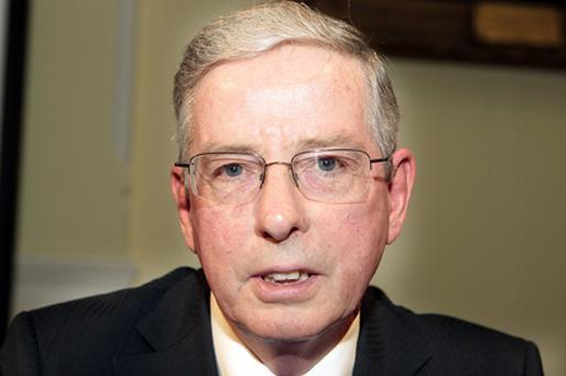 Pat Plunkett: Stepping down after 10 years as chairman. Photo: Tom Burke