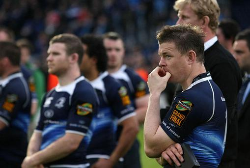 Ireland captain Brian O'Driscoll and his Leinster team-mates in Declan Kidney's squad must now switch attention to the summer tour Down Under. Photo: PA