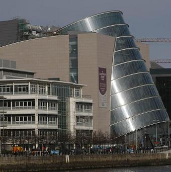 The National Convention centre in Dublin's Dockland