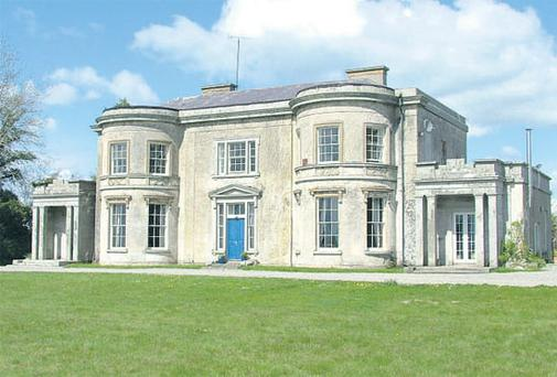 ROOM WITH A VIEW: The house needs some work, but it looks out towards Mount Leinster and is an ideal buy for someone with an eye on the country house end of the tourism market