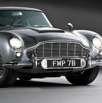 The car driven by Sean Connery in Goldfinger is up for sale