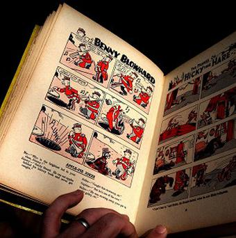 A rare Beano comic book was handed in at a charity shop in St Andrews