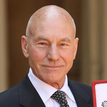Patrick Stewart has been knighted
