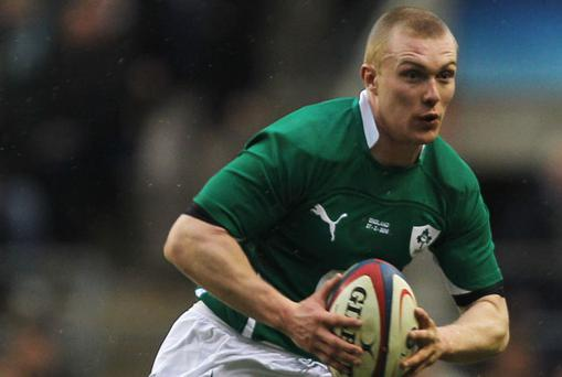 Keith Earls. Photo: Getty Images