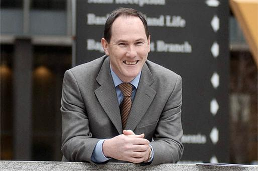 Dan McLaughlin, group chief economist at Bank of Ireland. Photo: Bloomberg News