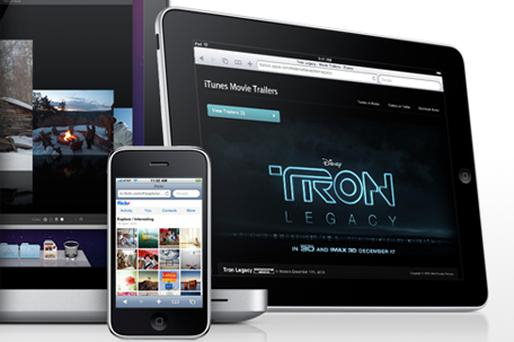 Apple is showcasing HTML5 technology on its website, as it seeks to persuade developers to abandon Flash for new standards. Photo: Apple