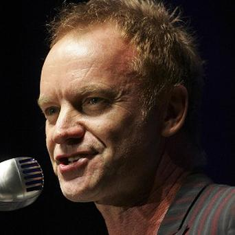 Sting said he was nervous before kicking off his Symphonicity tour