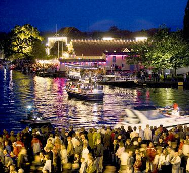 Aarhus hosts various festivals during the summer months.