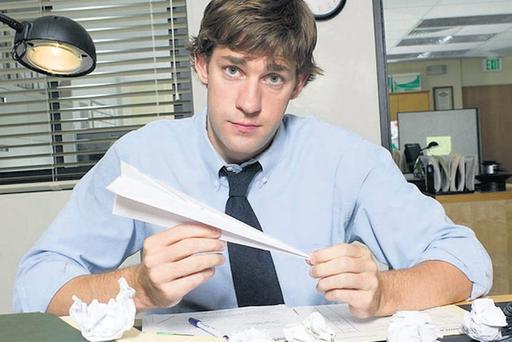 The ultimate horror: Jim Halpert in US version of The Office