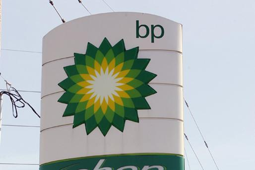 Shares in BP plunged nearly 10pc last night