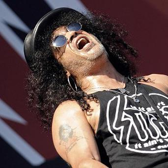 Slash has said he's like to jam with Ronnie Wood