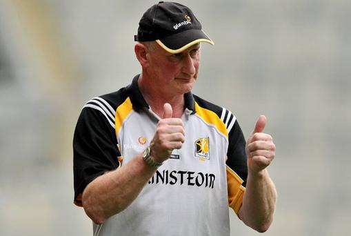 Brian Cody will be hoping to give the thumbs-up to Jackie Tyrrell and the rest of the Kilkenny team as they open their campaign against Dublin on Sunday.