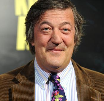 Stephen Fry. Photo: Getty Images