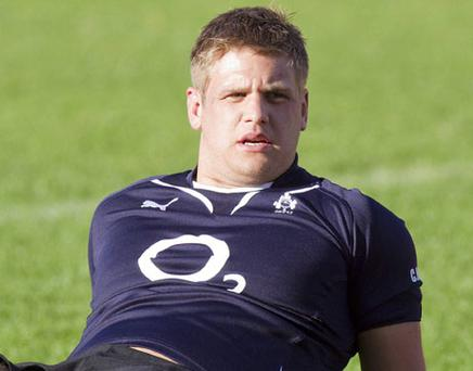 Chris Henry is hoping build on last week's second half performance against New Zealand.