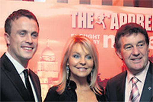 Apprentice winner for 2009 Steve Rayner (left) with judges, Bill Cullen and Jackie Lavin. The show has signed up almost all its crucial task sponsors and is well on the way to sealing a deal with flagship sponsor to replace departing Meteor