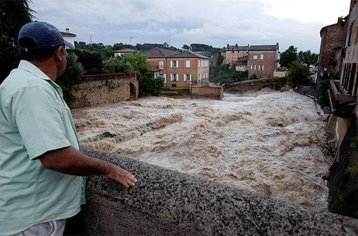 La Nartuby river in Trans en Provence, south eastern France. Photo: Reuters