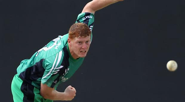 Kevin O'Brien was a stand-out bowler for Ireland. Photo: Getty Images